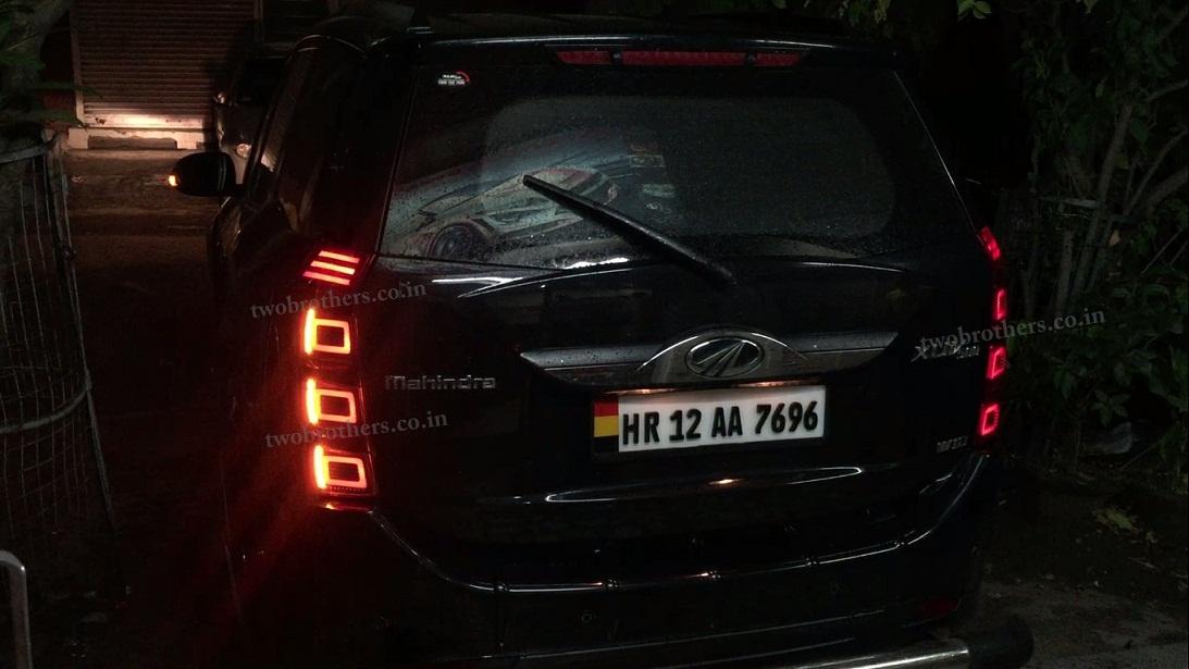 Xuv 500 Rang Rover Style Led Tail Lights V1