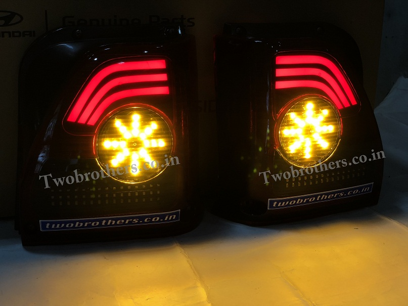 Maruti 800 Concept Style Led Tail Lights