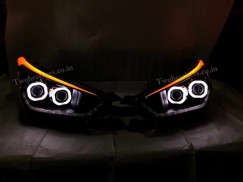 Creta Dual Projector Headlights With Ultra Matrix Drl With