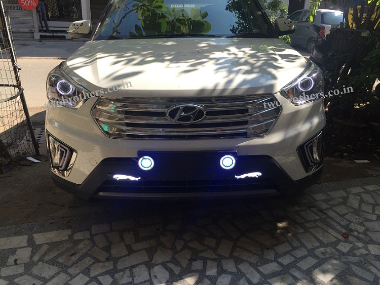 Creta Projector Headlights With Ultra Matrix Drl