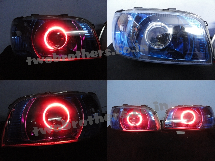 Alto Projector Headlights With Blue Smoked Headlamps