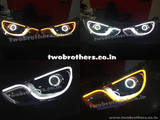 Verna Fluidic Projector Lamps With Audi Style