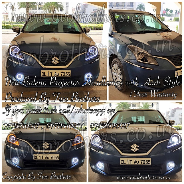 Dual Projector Headlights India Hid Projector Lamps India Polo