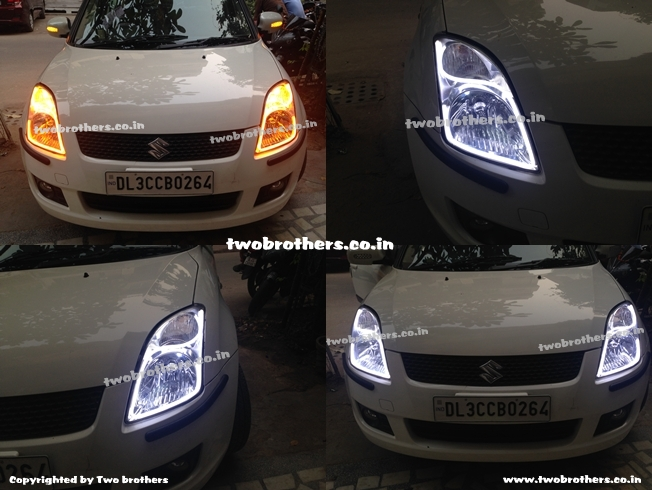 Swift Audi Style Convertable Drl